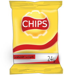 potato chips bag png