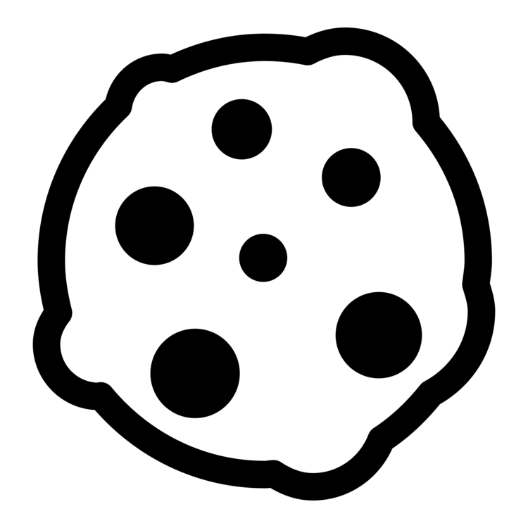 cookie png black