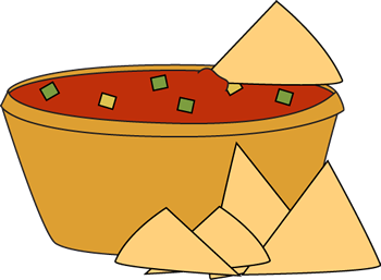 chip clipart salsa chip