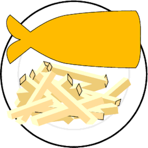 Chip clipart svg. Fish chips cliparts of