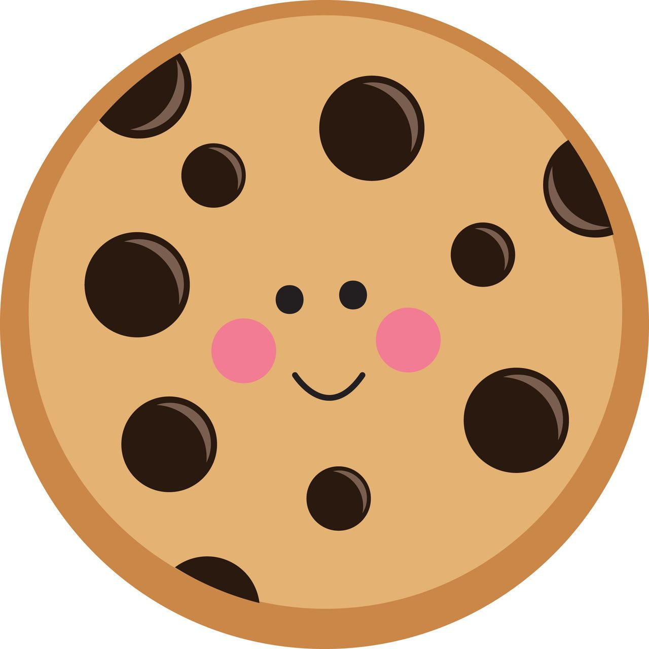 Chip clipart svg. Cute chocolate cookie off
