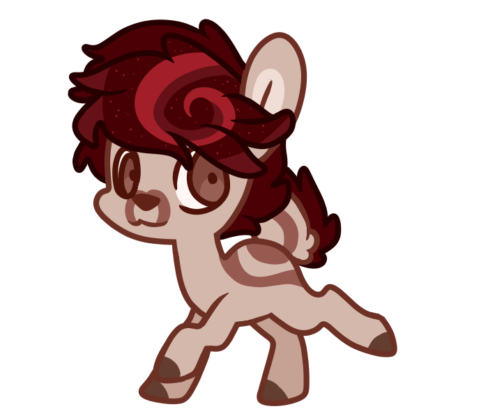 Chip drawing chibi. New of my deer
