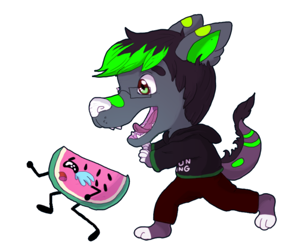 Chip drawing chibi. Prize minty by teepy