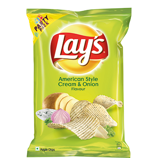 Chip drawing lays. Potato chips american style