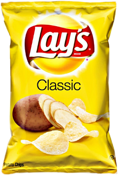 Chip drawing lays. Popular and trending stickers