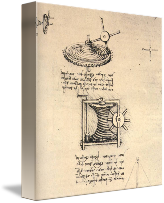 Drawing cylinder still life. Of timepiece by artloversonline