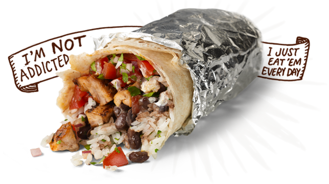 Mexican burritos png. Chipotle to offer lucky