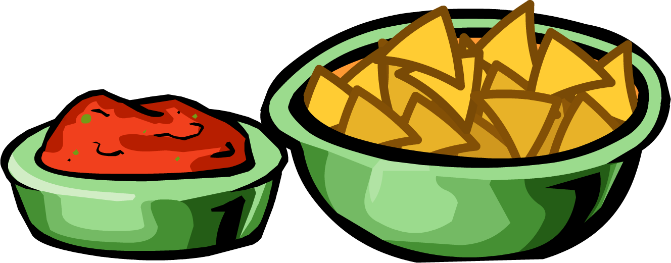 salsa and chips png