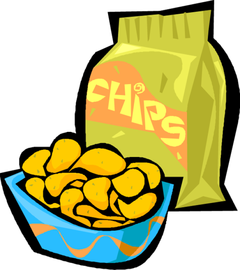 Chips clipart unhealthy food. Free snack bar cliparts