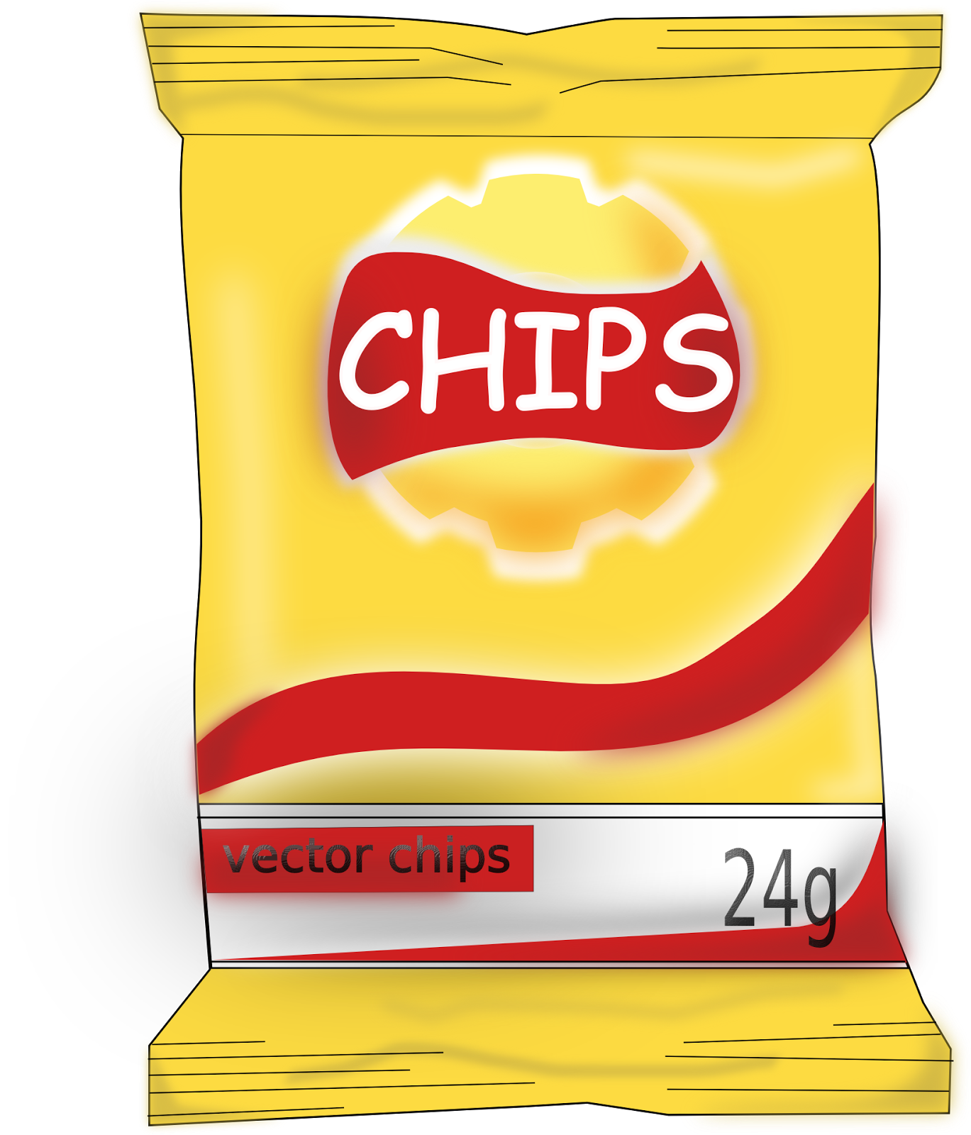 Chips clipart unhealthy food. At getdrawings com free