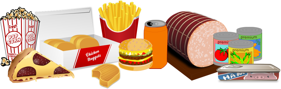 Processed food movie popcorn. Chips png clipart image transparent library