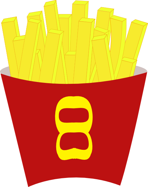 Chips png clipart. French free fries clip