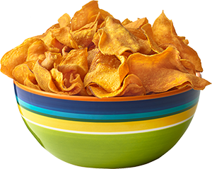 Chips transparent bowl png. Potato image with background
