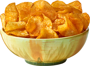Chips transparent bowl png. One potato two kettle