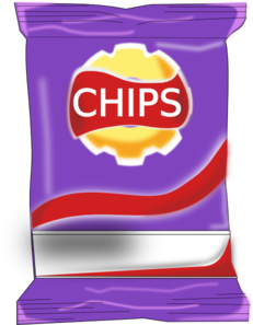 Chips transparent clipart. Packet clip art at
