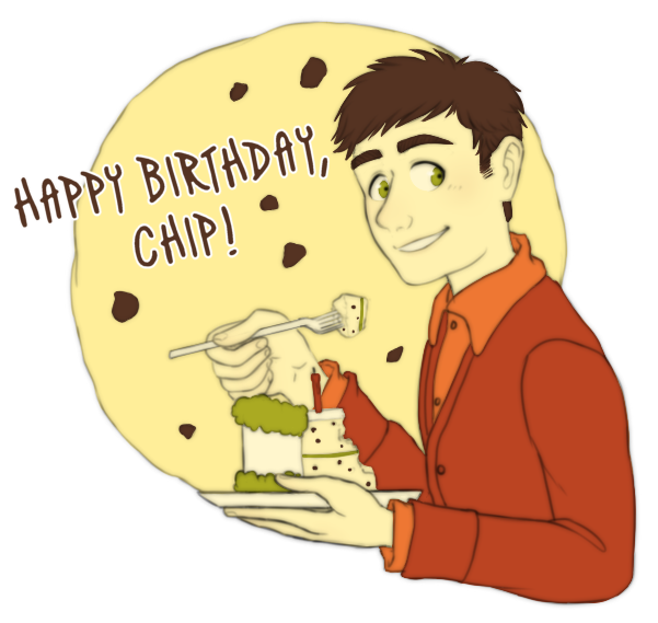 Chips transparent happy birthday. Chip by frozen lullaby