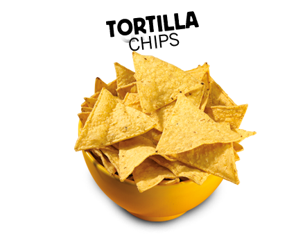 Chips transparent triangle. Aztecafoods europe big or
