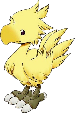 Chocobo transparent human