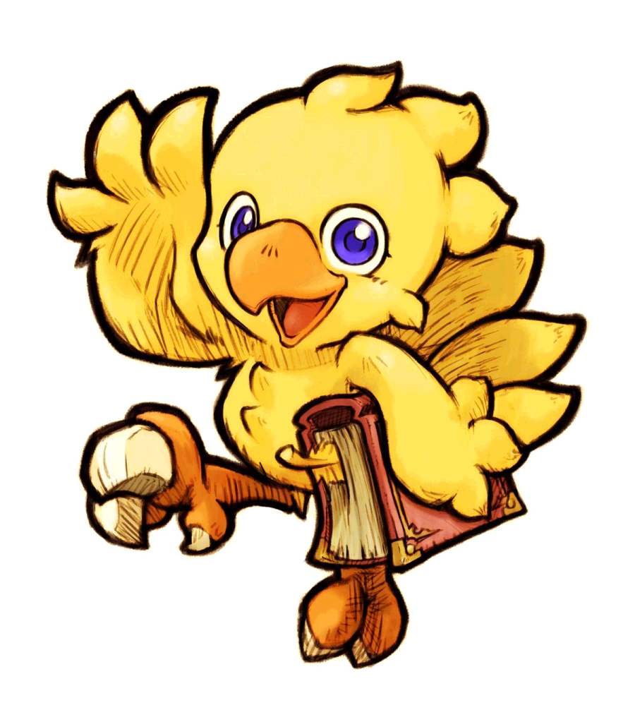 Chocobo drawing boco. Super smash bros all