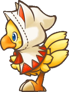 Chocobo transparent cloud strife. White mage s dungeon