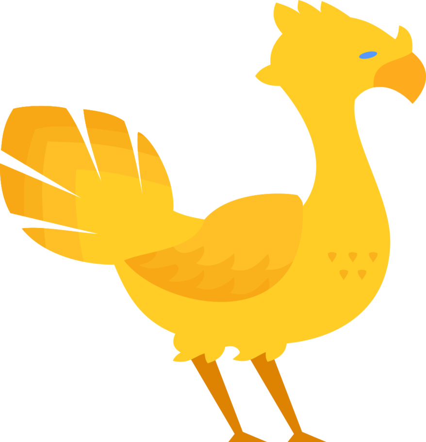 Chocobo drawing final fantasy. Xv decal by inertspark