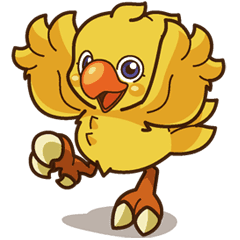 Chocobo transparent ffxv. Line stickers store