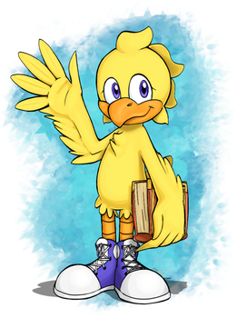 Chocobo transparent choco. The by mylittlesonic on