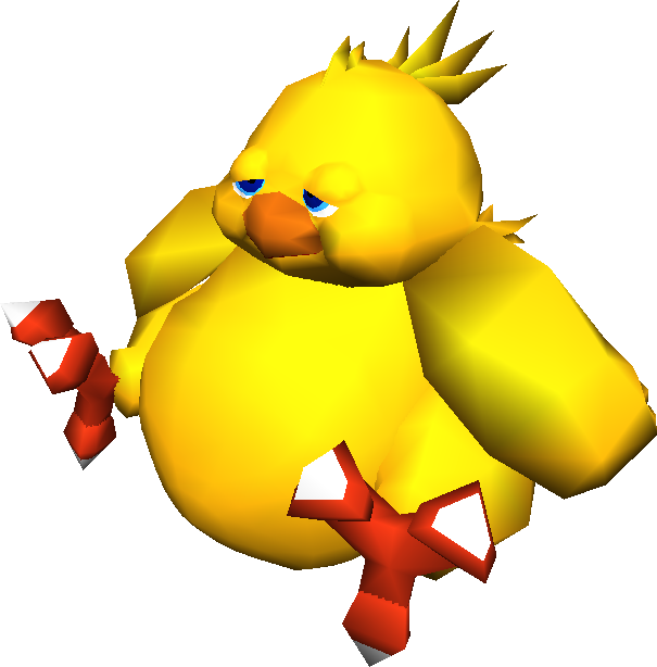 Chocobo transparent cloud strife. Image fatchocobo ffvii png