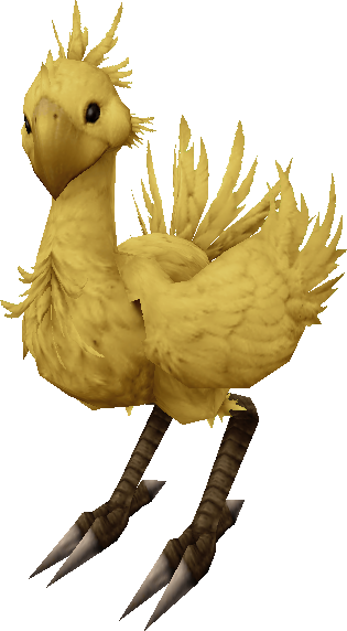 Chocobo transparent ffxv. Visual the melodious nocturne