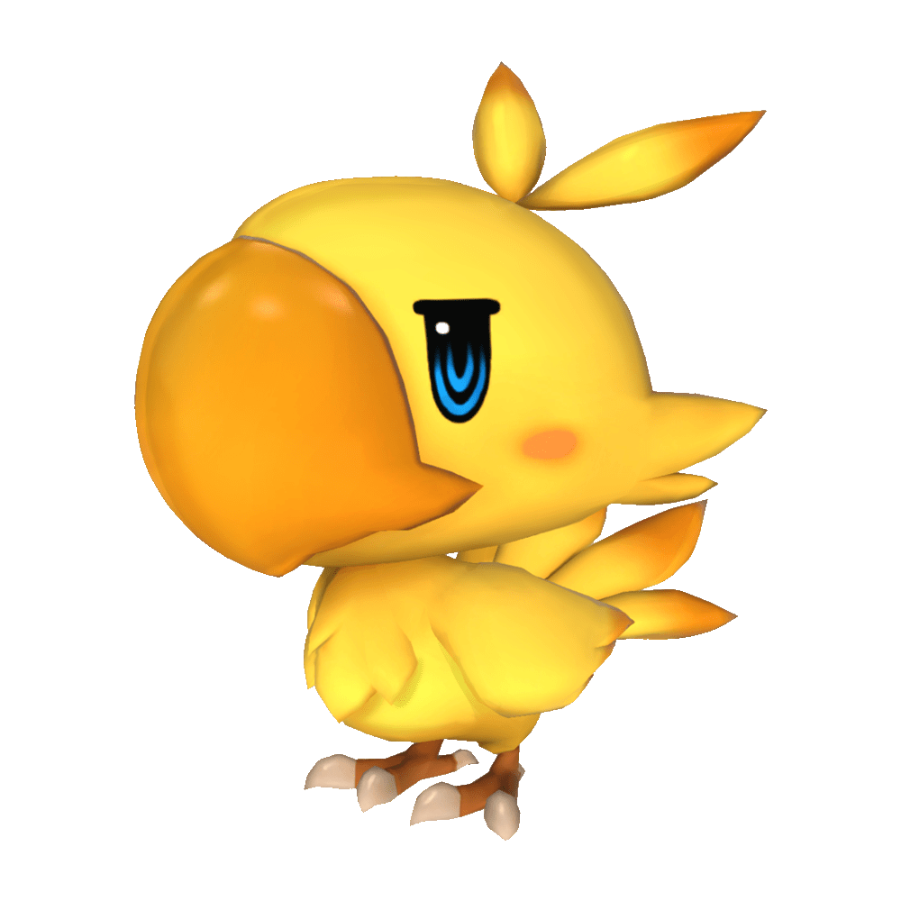 Chocobo transparent human. Image woff png final