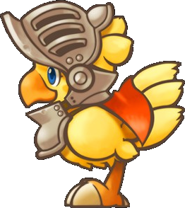 Chocobo transparent knight. Image png final fantasy