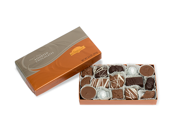 Chocolate box png. Sugar free gift assorted