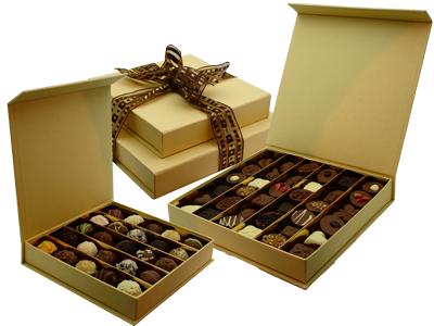 Chocolate box png. Printed gift manufacturer from