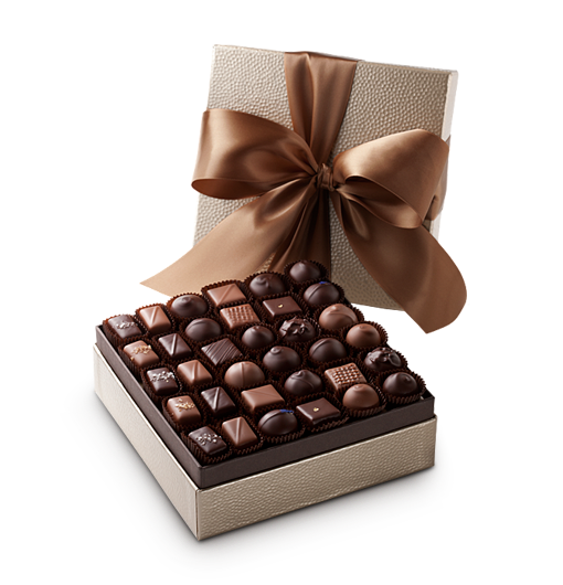Chocolate box png. Silver gold or wildly
