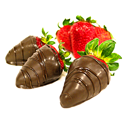 covered strawberries png