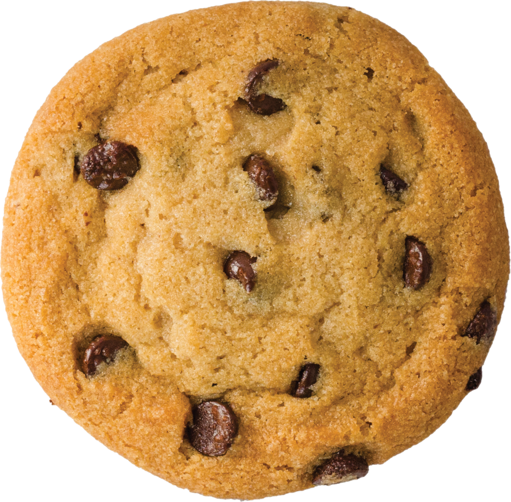 Chocolate chip cookie png. Chewy cookies colonel s