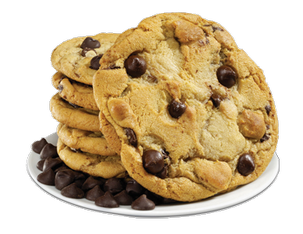 Chocolate chip cookie png. Cookies big fundraising ideas