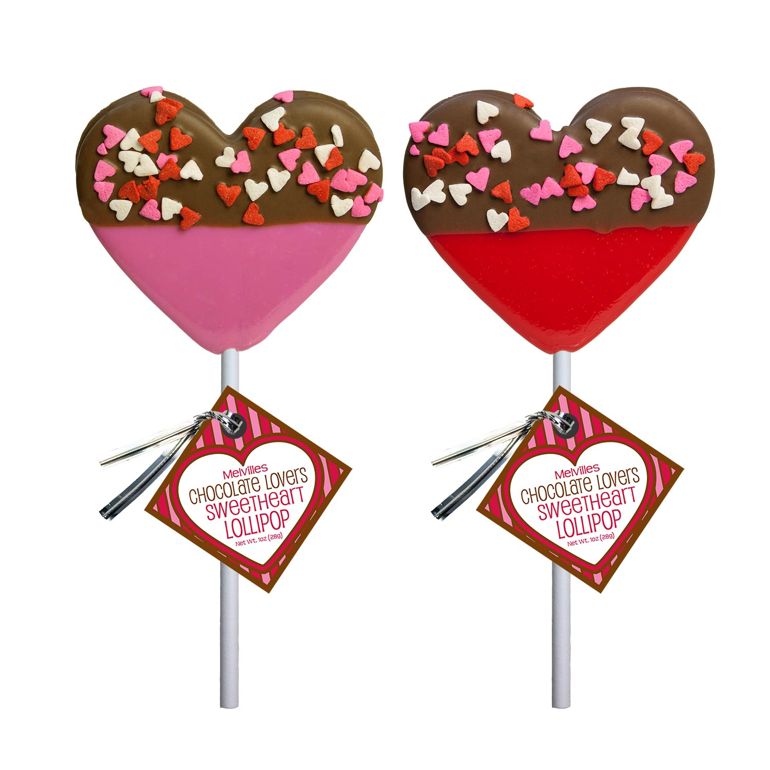 Chocolate clipart chocolate lollipop. Dipped confetti heart lollipops