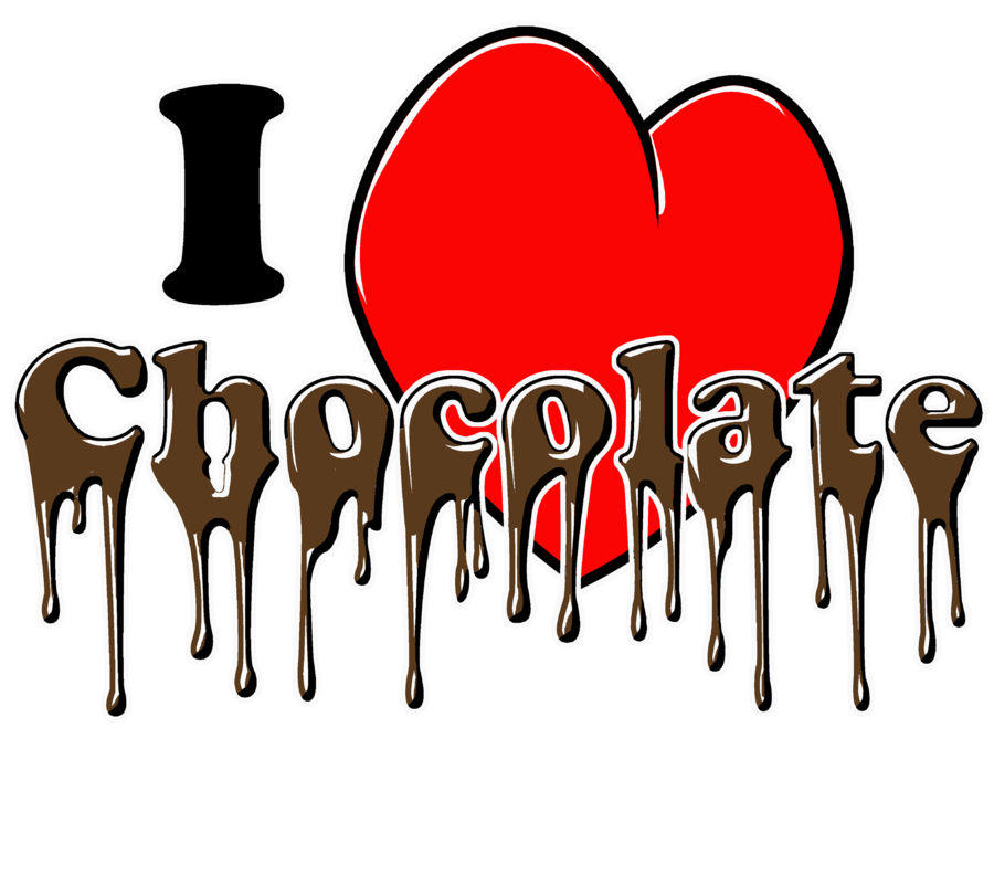 Chocolate clipart chocolate lover. I love by aktn