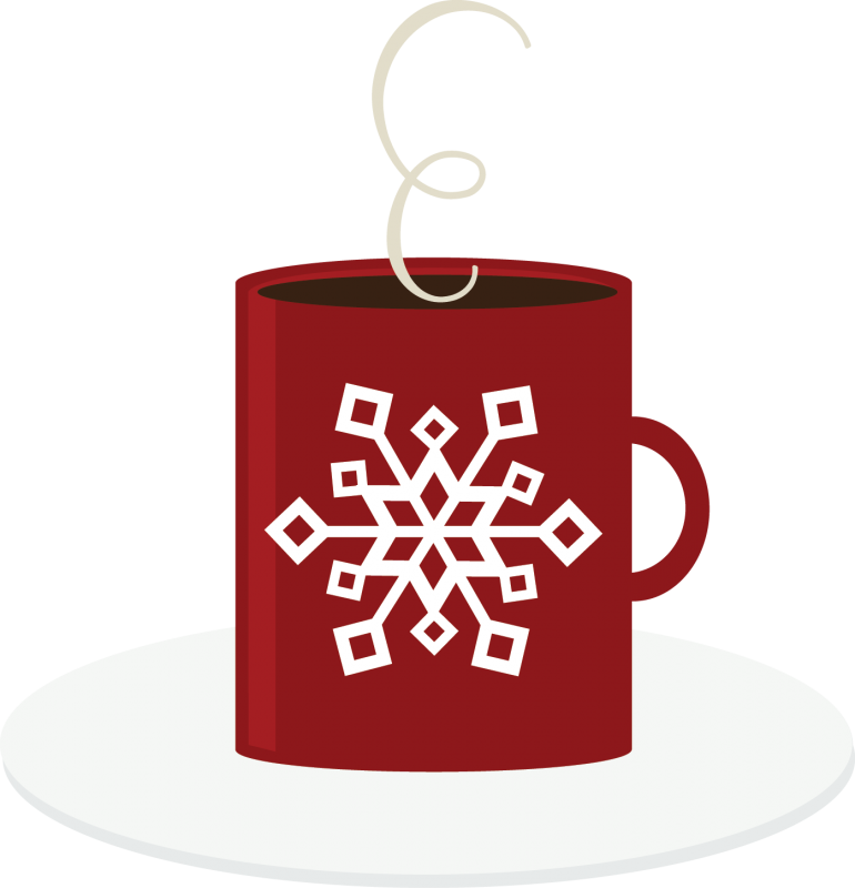 Hot vector cocoa. Chocolate clipart image group