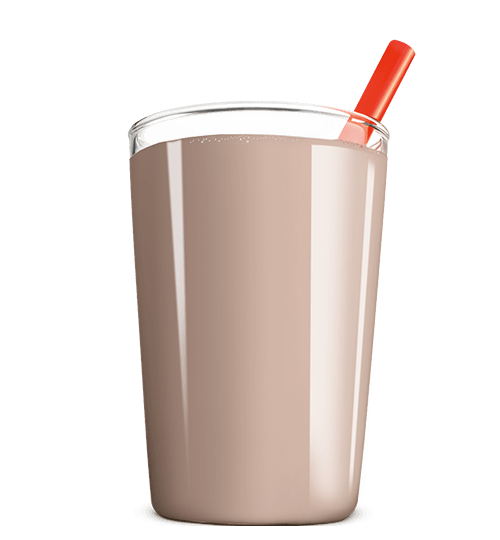 glass of chocolate milk png