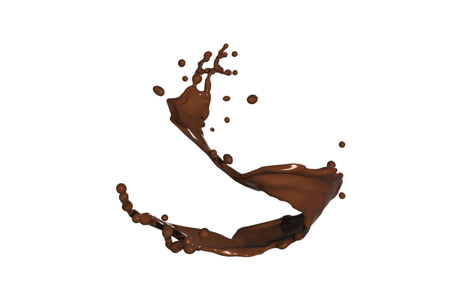 Chocolate milk splash png. Transparent stickpng