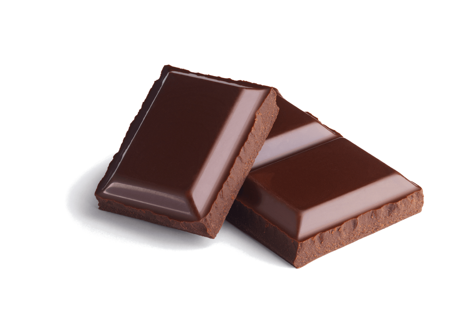 Chocolate png. Pieces transparent stickpng