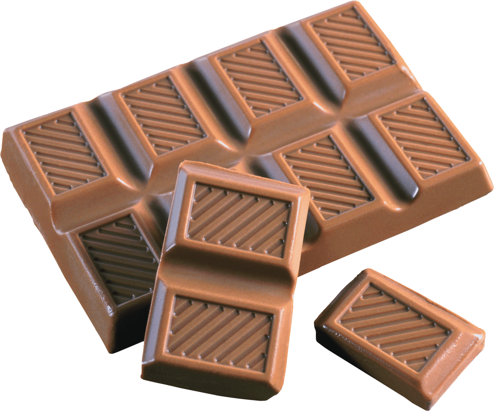 Chocolate png. Chunks tablet transparent stickpng