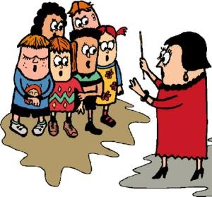 Choir clipart choral speaking. Back to bbgs tips