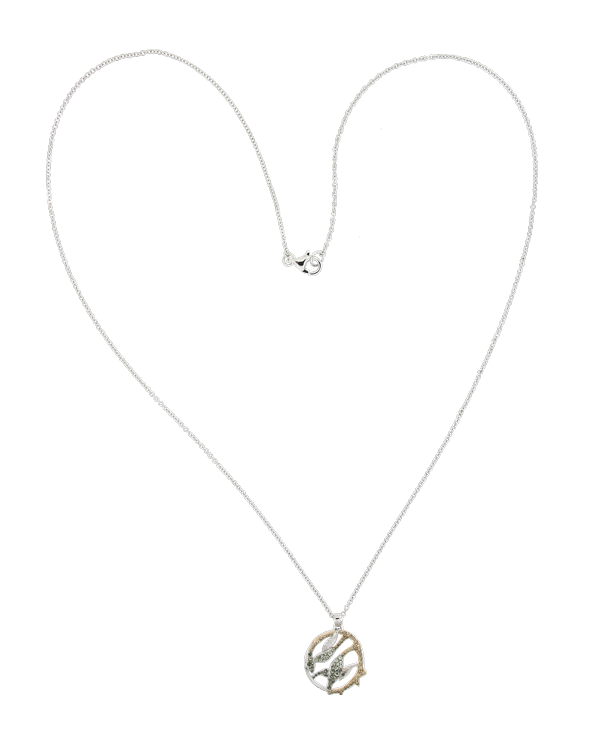 Choker drawing heart. Necklaces niin treading lightly