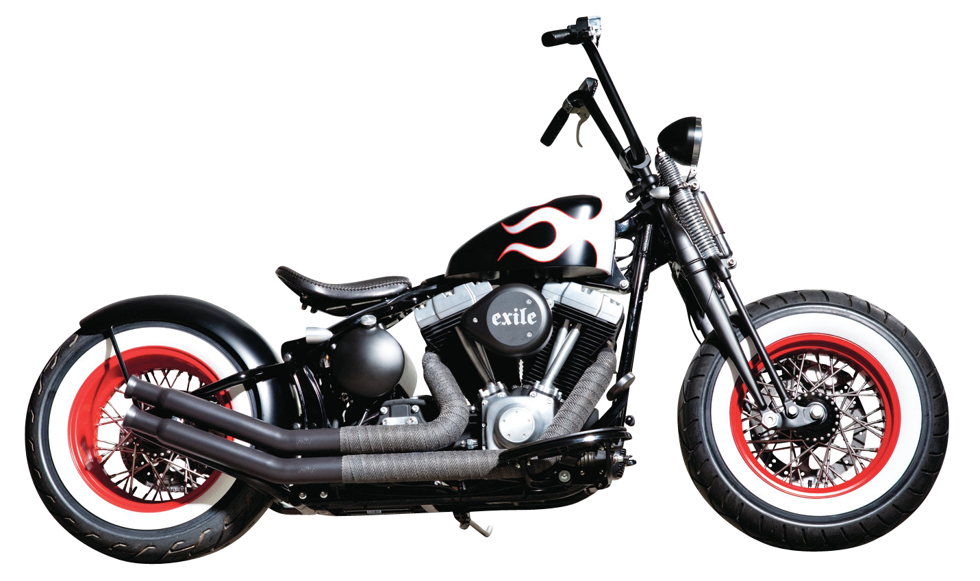 chopper motorcycle png