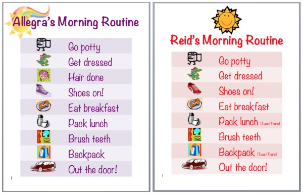 Chore clipart morning chore. How to make a