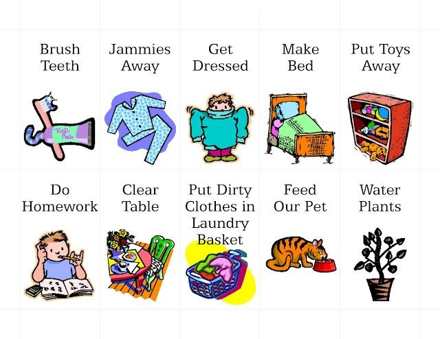 Chore clipart visual cue. Pix for girl chores