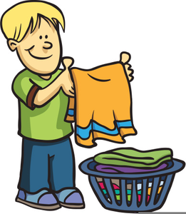 Chores clipart. Boys free images at